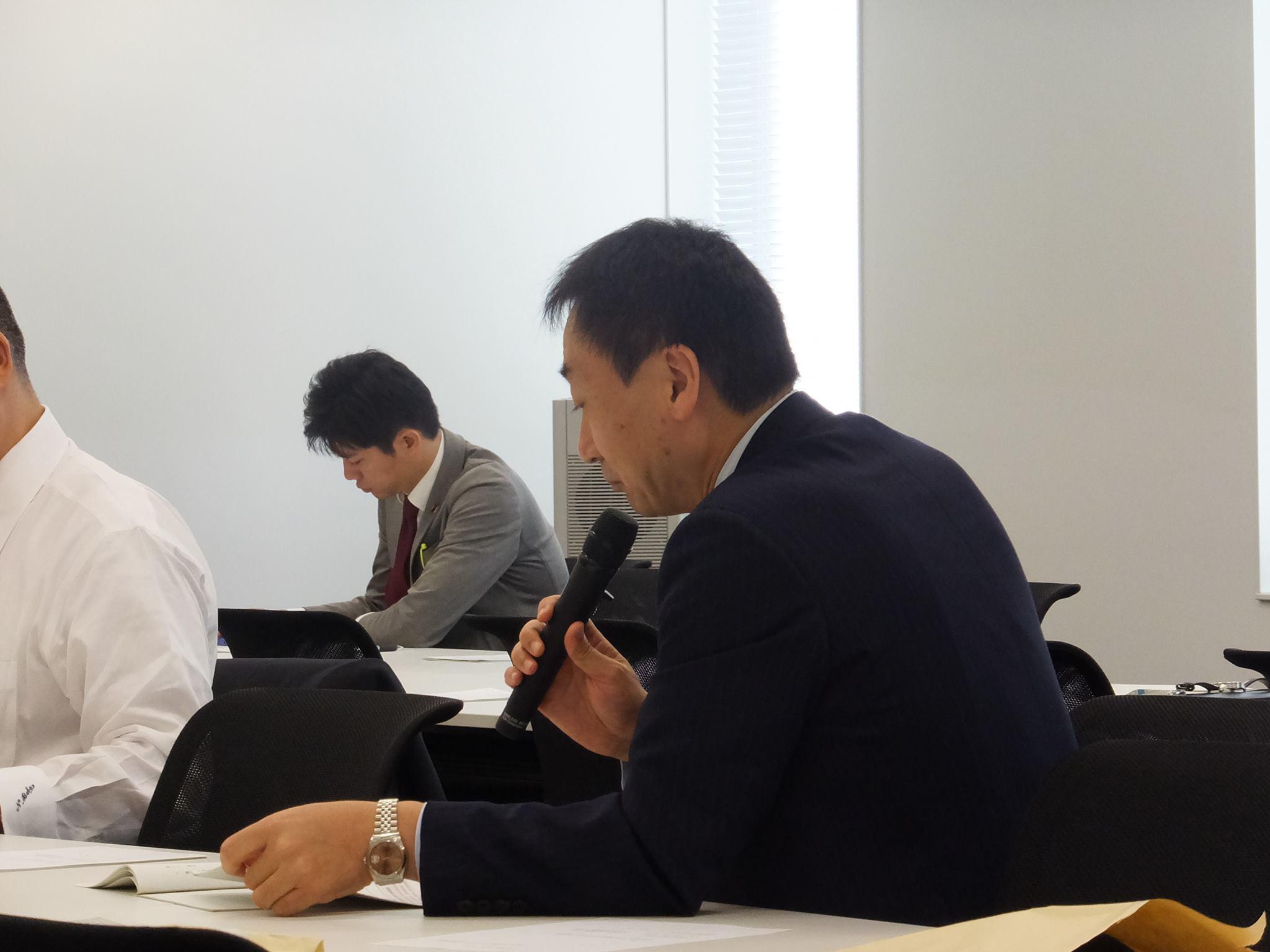 2014.11.05 道州経済部会 自民党よりヒアリング