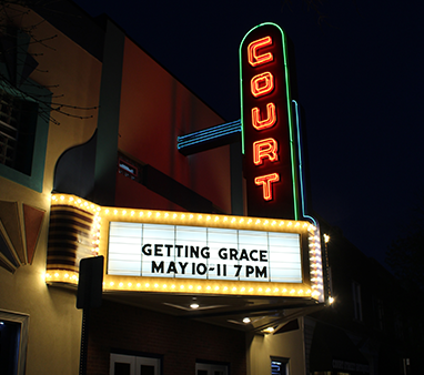 Court Street Theater Marquee