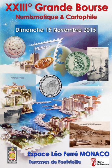 Grande Bourse Numismatique & Cartophile - 15 novembre 2015