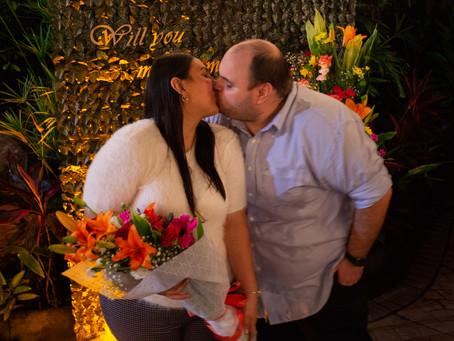 Un Paseo Romántico y Una Propuesta de Matrimonio Sorpresa