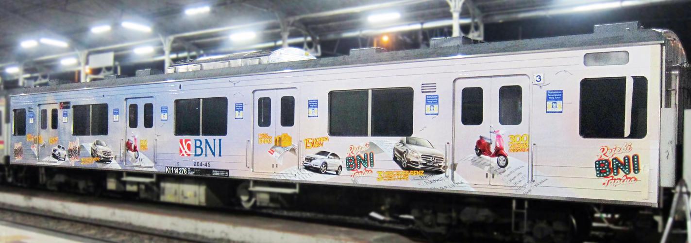 BNI Train Branding