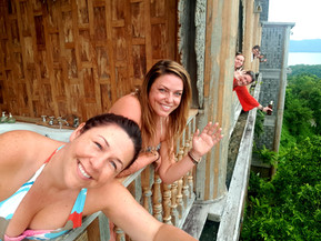 Our amazing Thailand Adventure accommodation; jungle treehouses to five star luxury with sea views!