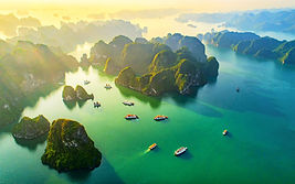 Halong Bay, Vietnam: Small luxury group tours, adventures, travel and holidays for solo / single women in 20s, 30s, 40s and 50s with Travel Queen
