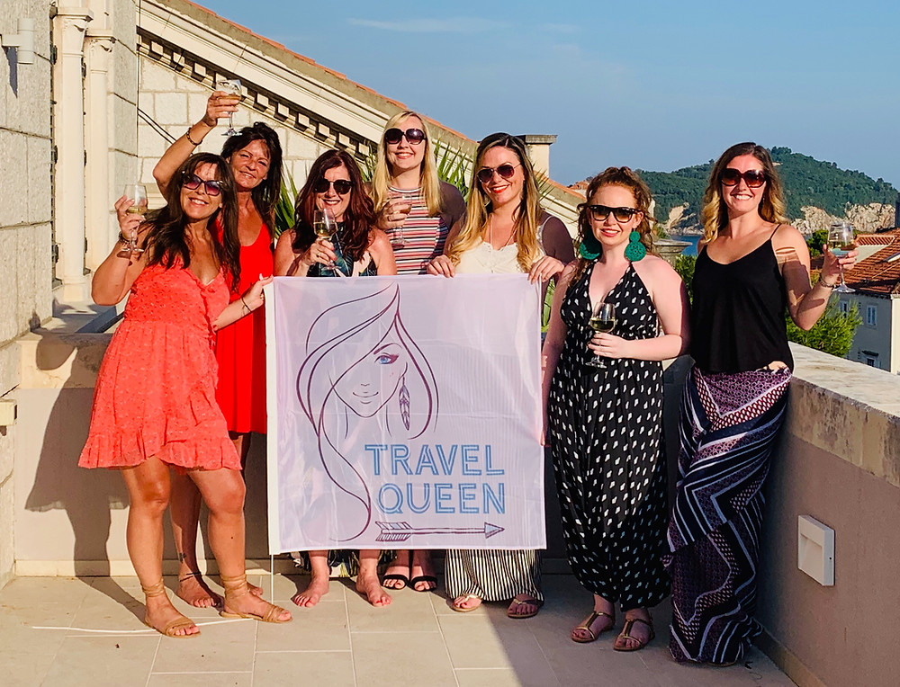 Small luxury group tours, adventures, travel and holidays for solo / single women in 20s, 30s, 40s and 50s with Travel Queen
