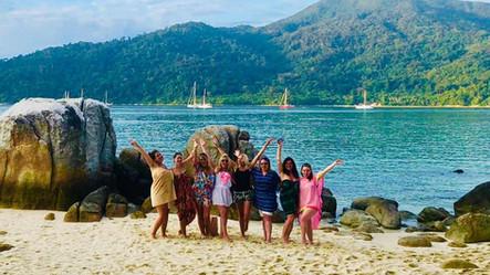 Girls in Koh Lipe