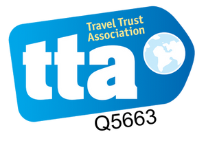 Travel Queen LTD is a fully licensed member of the Travel Trust Association giving customers 100% financial protection