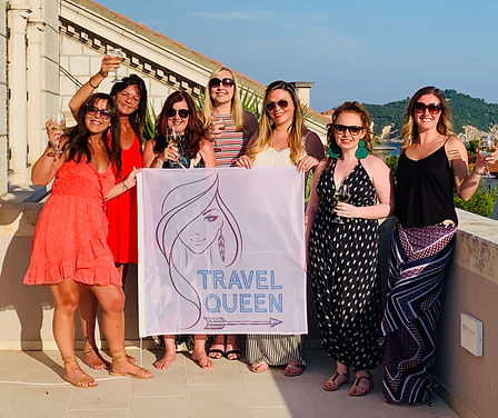 Independent women on a Travel Queen Croatia Adventure group tour for women aged 30s, 40s and 50s