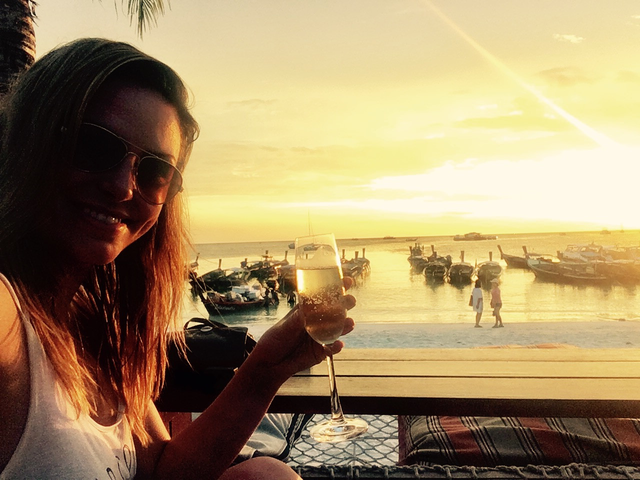Prosecco by sunset, Koh Lipe
