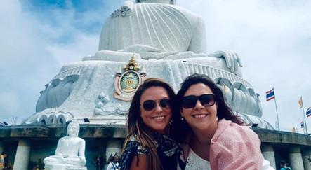 Mel & Rach at Big Buddha, Phuket, Thailand