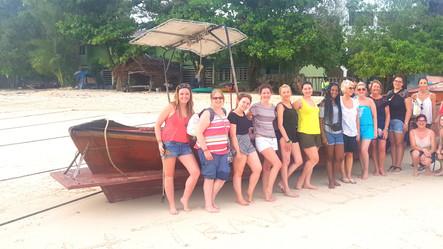 Arriving in Koh Phi Phi
