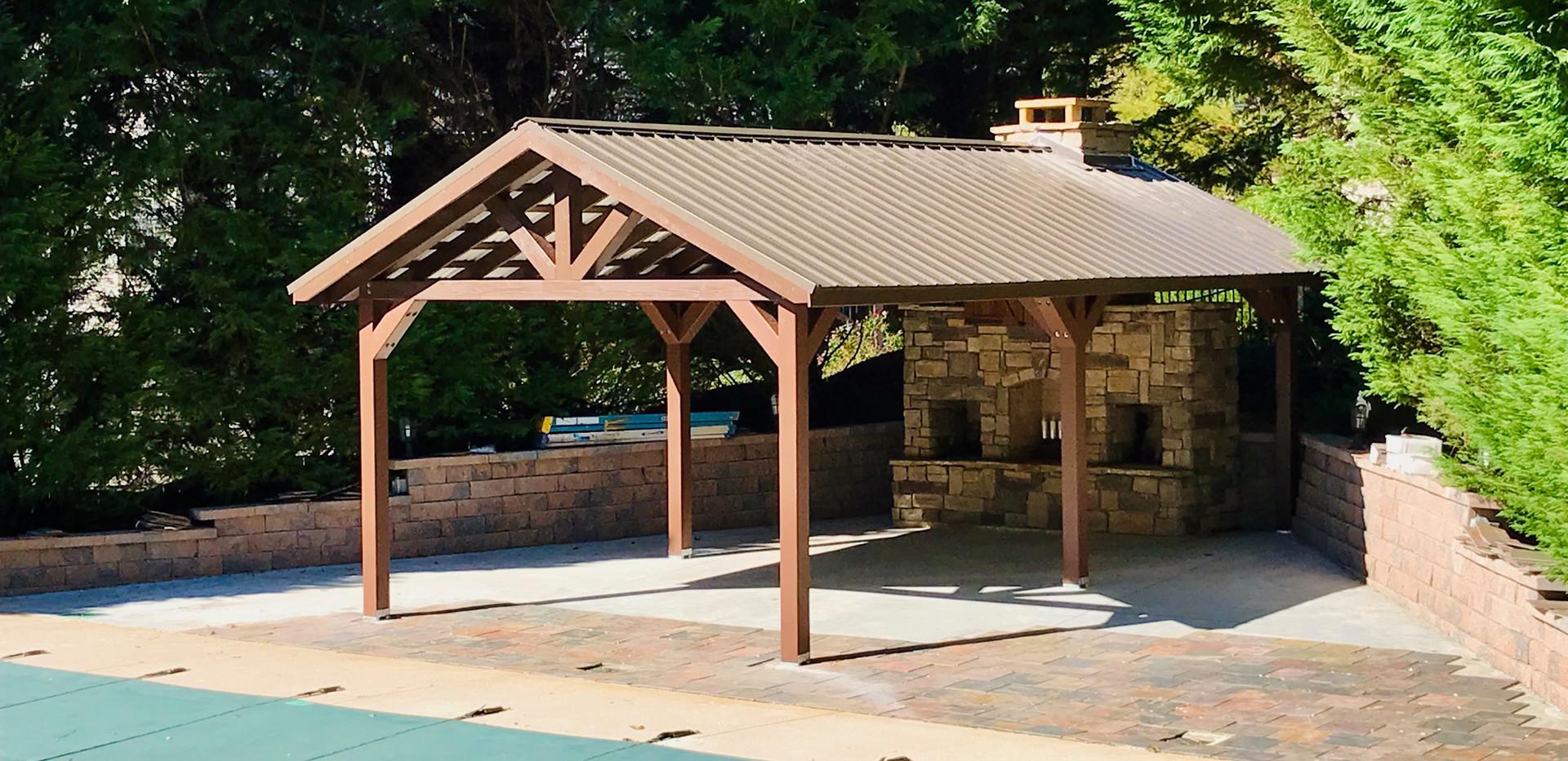 Custom Size Pavilion
