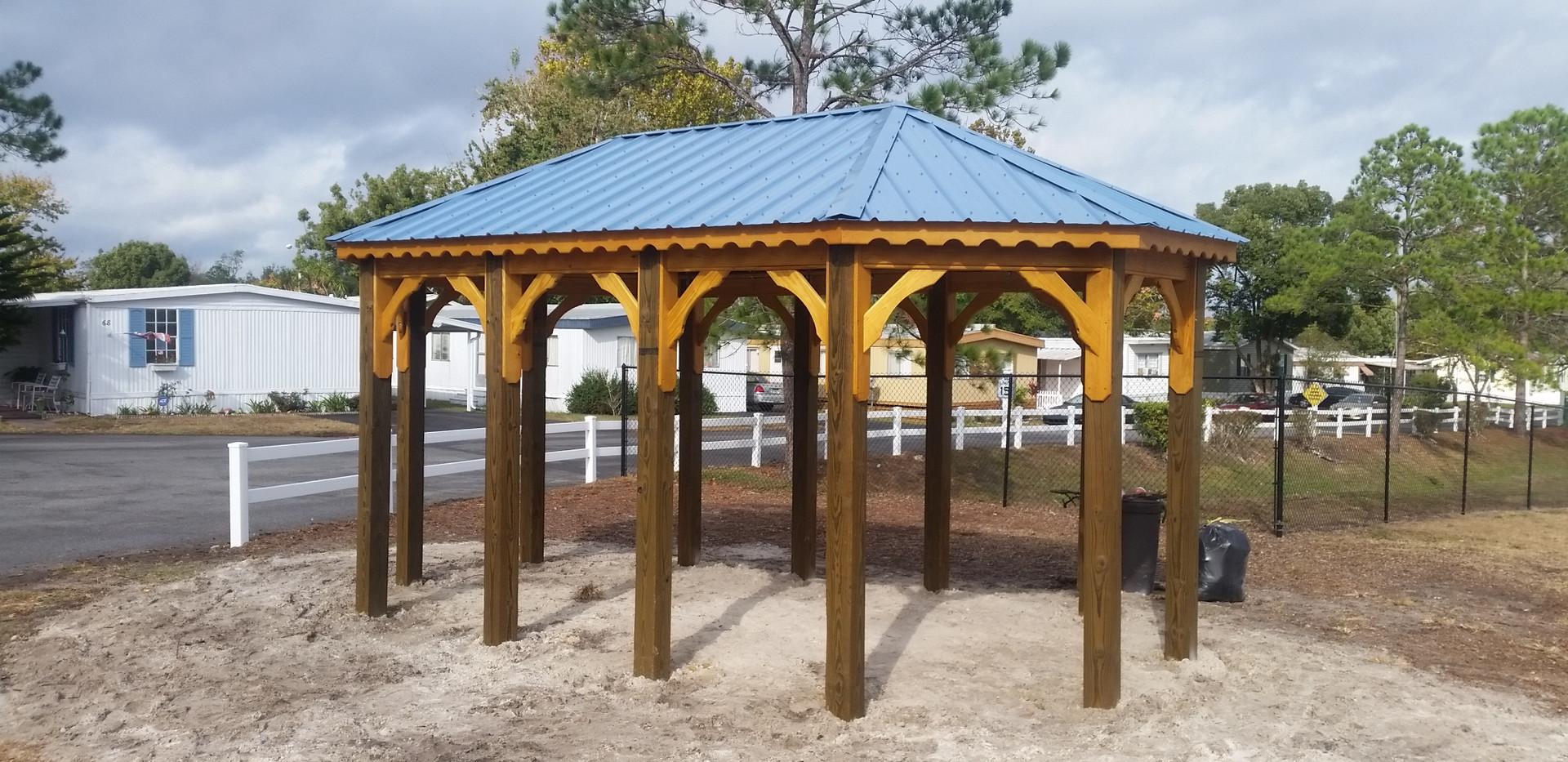Custom Oblong Pavilion