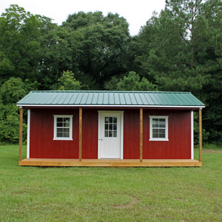 14' x 24' Side Porched Utility