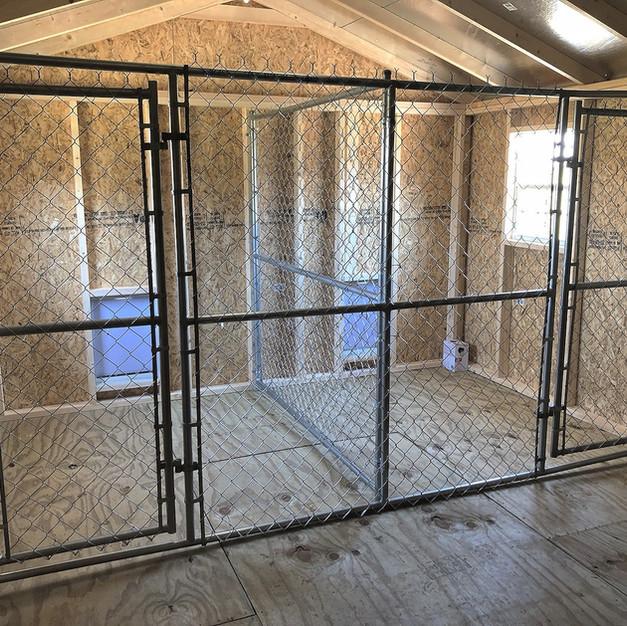 12' x 24' Custom Kennel (Interior)
