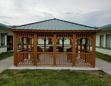 Custom Square Pavilion