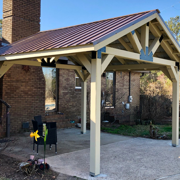 12 x 12 Open Gable Pavilion