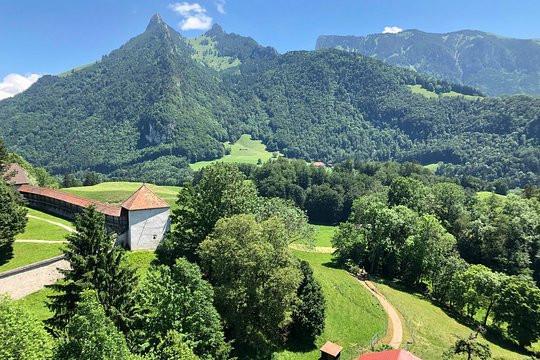 View from Hauteville village