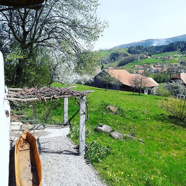 Hauteville village view