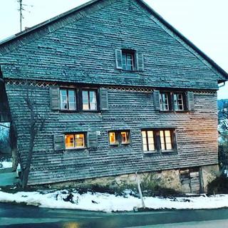 Ferme du village de Hauteville