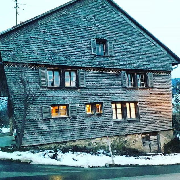 Hauteville village farmhouse