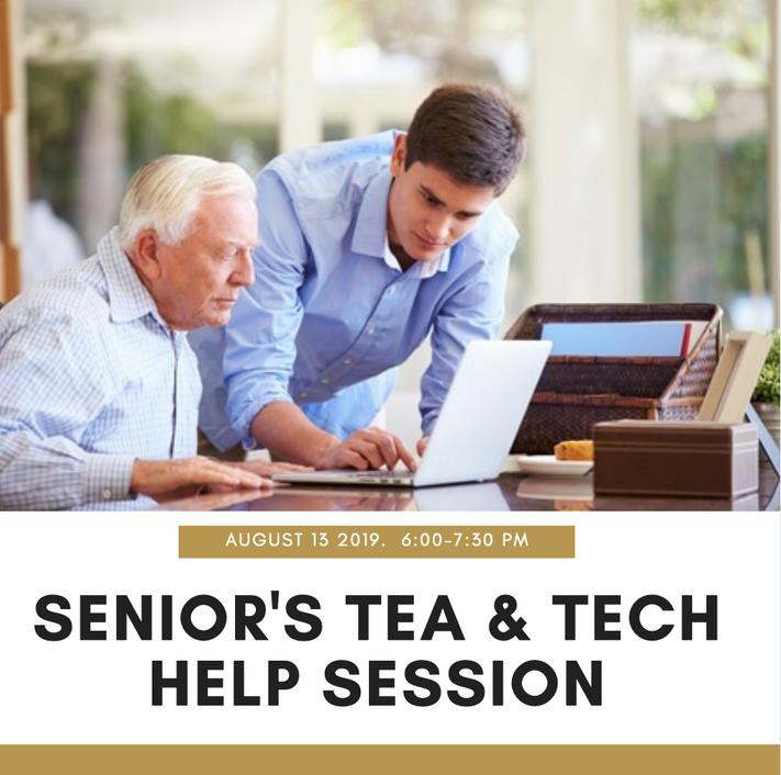Senior's Tea & Tech Help Session