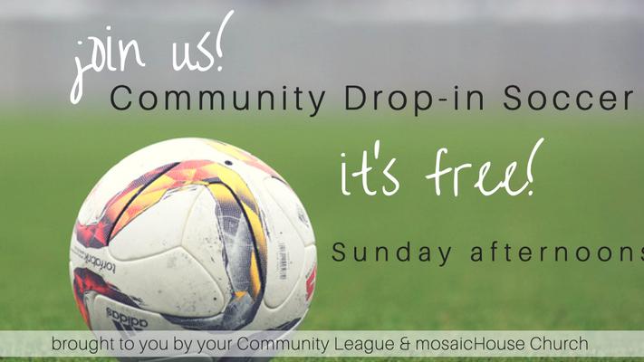 Community Drop-in Soccer