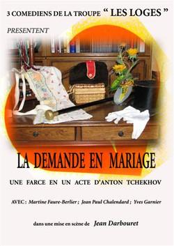 La demande en mariage