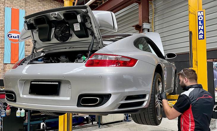 Porsche Pre-Purchase Inspection