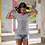 Thumbnail: Love The Wine You're With Women's Jersey Short Sleeve Deep V-Neck Tee