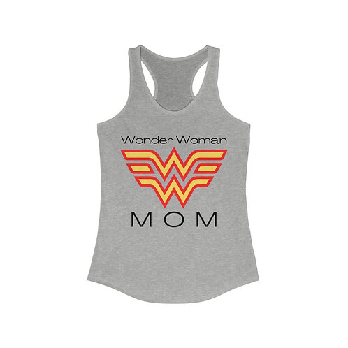 WonderWomanMom Ideal Racerback Tank
