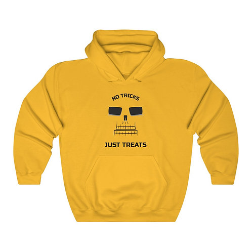 No Tricks Just Treats Orange Unisex Heavy Blend™ Hooded Sweatshirt