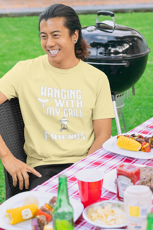 Hanging With My Grill Friends Jersey Short Sleeve Tee