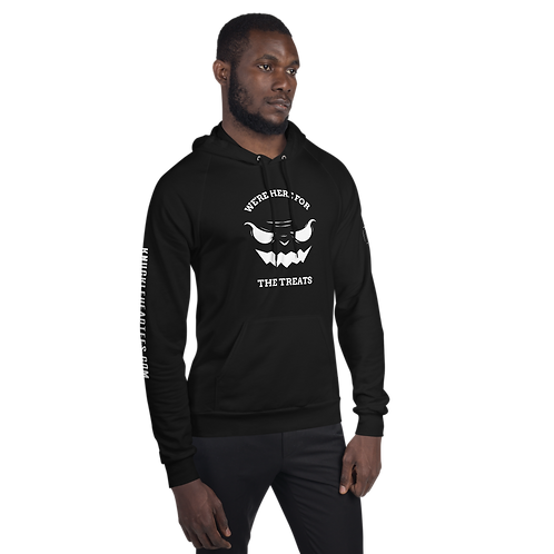 We're Here For The Treats Unisex Fleece Hoodie