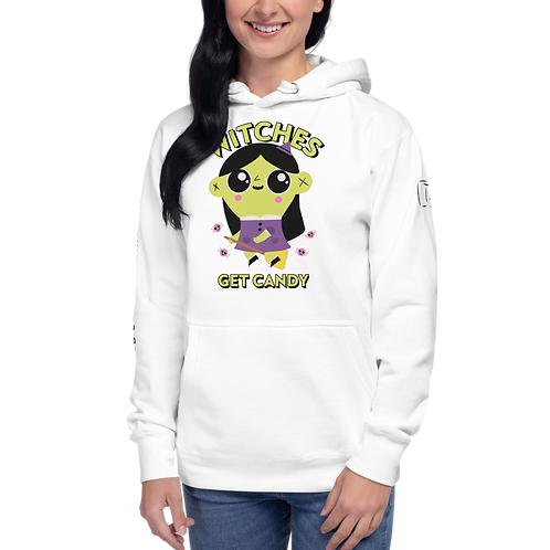 Witches Get Candy Unisex Hoodie