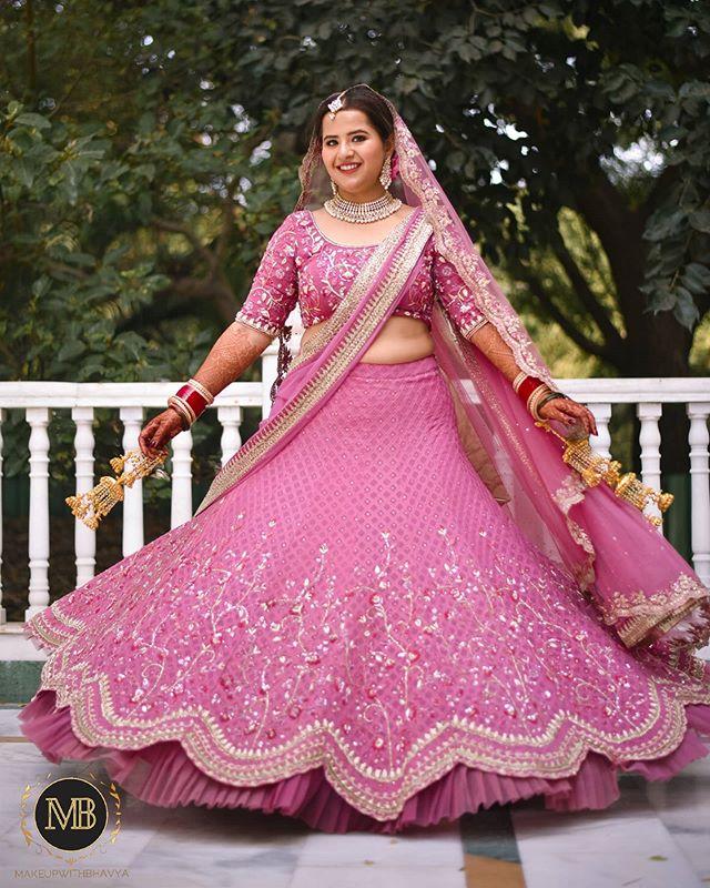 "My ""pretti""est bride ♥️♥️ Loved dressing"