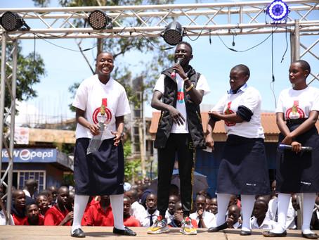 Inspiring Teens to end underage drinking in Uganda.