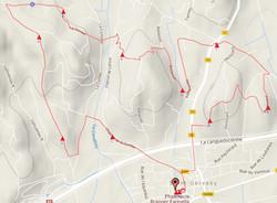 Trace du parcours de 10km