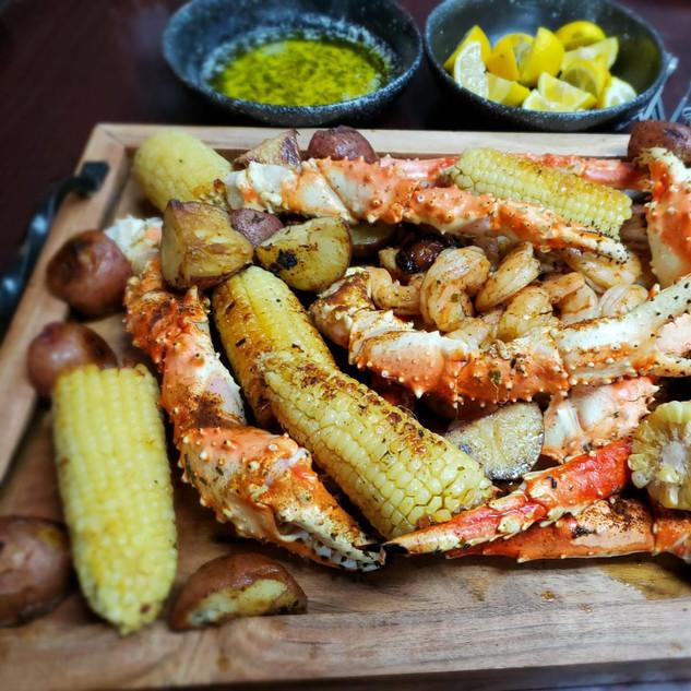 crab leg boil