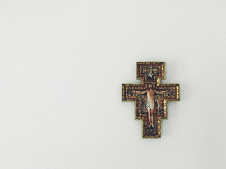 On smiling at the cross