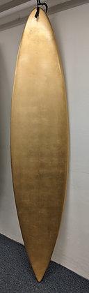 """Golden deal"" surfboard by Frances R"