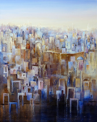 """Indigo Treasure"" by Christa Hillekamp"