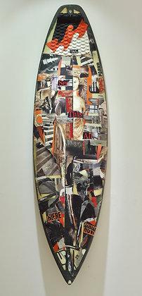 """""""Hestia"""" Surfboard by Frances R"""