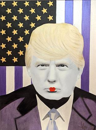 """Trump Geisha edition"" by Hayo Sol"