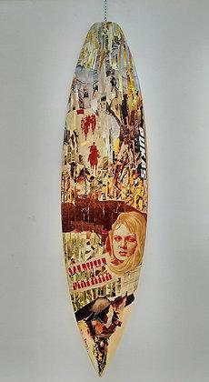 """Maria"" Surfboard by Frances R"