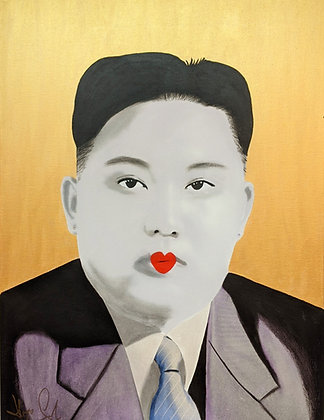 """Kim Jong-un Geisha edition"" by Hayo Sol"