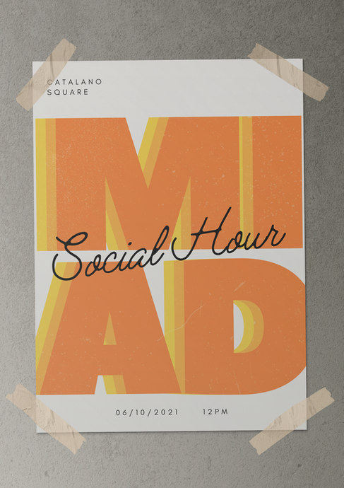 MIAD Social Hour Poster