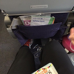 Paid for more leg room