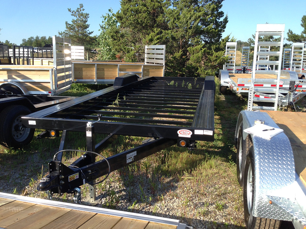 24' Tiny House Trailer form Action Trailers