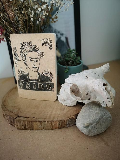 Carnet Frida Kahlo noir