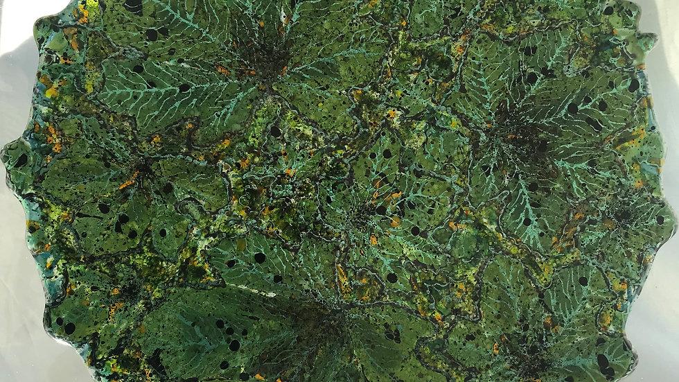 Stort glassfat 44 cm